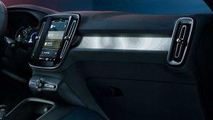 Салон Volvo C40 Recharge