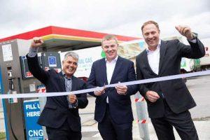 GNI и Circle K открывают две новые заправки CNG