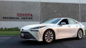 Автомобиль Toyota Mirai 2021 установил мировой рекорд по запасу хода