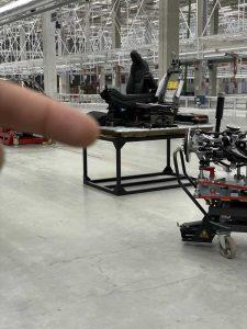Сиденья будут устанавливаться непосредственно на аккумуляторную батарею
