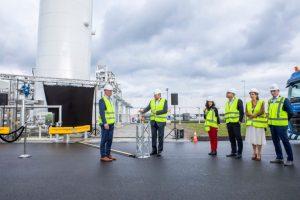 В Нидерландах открыт первый завод био-СПГ