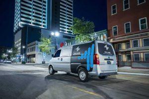 Электрический фургон Urban Delivery EV