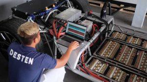 Desten продемонстрировали сверхбыструю зарядку аккумулятора 900 кВт
