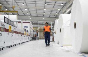 Компания Essity инвестируют в оборудование для производства бумажных салфеток на геотермальном паре